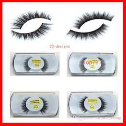 Fur Mink False Eyelashes Eyes Makeup Handmade mink handmade natural 3D models Lashes eyelash manufacturers Beaux Arts promotional