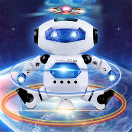 Robot Nice Gifts for Children Boys Electronic Walking Dancing Smart Space Robot Astronaut Kids Music Light Toys Dancing Robert