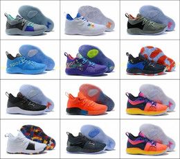 c93e800d28d8 The Bait II Taurus Paul George PG 2 Basketball Shoes OKC Home PG2 2S Hot  Punch Mamba Mentality Pure Platinum Sports Sneakers 40-46