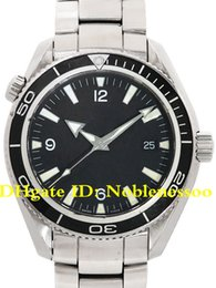 6 style Luxury High Quality Watch Men's Planet Ocean Steel Black Co-Axial 600M 2201.50.00 Asia 2813 Movement Automatic Mens Watch Watches