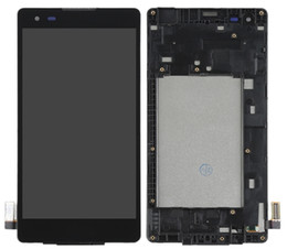 For LG K6 X Style K200 K200DSF K200F K200MT LCD Display Touch Screen Digitizer Assembly with frame