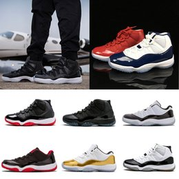 2018 basketball Shoes 11 Prom Night 11s Space Jam navy gum Varsity Red gamma blue Infrared concord legend blue sneaker