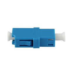 Hot Sale and Free Shipping RoHS Compliant 50PCS Single Mode Simplex LC LC Fiber Optic Coupler Adapter