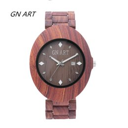 GNART OEM Wood Watches Men bowl table Bamboo bowl table Gift table Fashion watches Casual watch Lovers watch Quartz watch