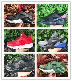 2018 New Huarache 4 Running Shoes Men Women Huaraches Light Athletic Sports Sneakers with box size:36-45
