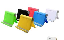 Mobile phone tablet lazy universal bracket folding bracket free shipping high quality 2018 new holder uninrsal whoesales OEM hot sales