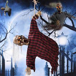 halloween eyes lights canada halloween scary skull doll light up eyes ghost hang haunted house