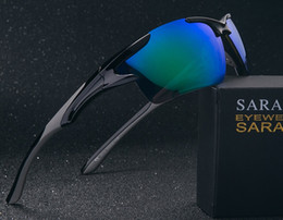 Brand Contact Free Trial SR9011 High Quality Sports Color Polarized Sunglasses Men's Riding UVA UVB Free Shipping