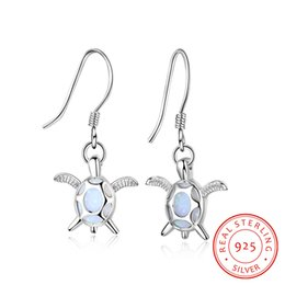925 sterling silver earrings sea turtle animal Guangzhou low prices China jewelry factory wholesale turkish silver jewelry fast shipping