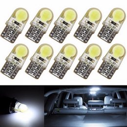 10Pcs T10 LED COB W5W 3W 6000K Cars From Canbus Light-Emitting Diodes Independent 8 Led Bulb No Errors Univ era Auto Lamp