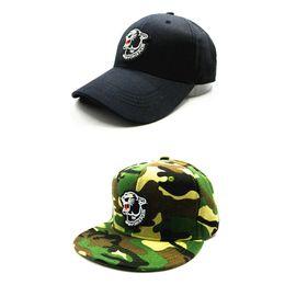 LDSLYJR 2018 black leopard embroidery cotton Baseball Cap hip-hop cap Adjustable Snapback Hats for kids and adult size 70