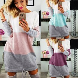 Autumn and Winter Women Blouses O neck Pullover Long Sleeve Casual Loose Solid Tops Lower Shirts Plus Size