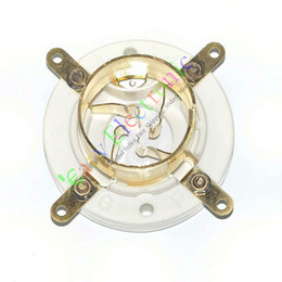 4Pin Gold Ceramic vacuum Tube Socket FU5 845 211 805 U4J audio amplifiers guitat HIFI parts