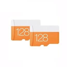 2020 Hot Orange EVO 16GB 32GB 64GB 128Go 256Go TF Memory SD Card Class 10 Card SD Adapter Retail Package Free DHL shipping 80mbps U1 U3