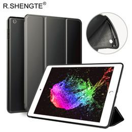 MOQ 1PCS Filp Leather W  Soft Silicon Back Cover For New iPad 2017 2018 Case,iPad 2 3 4,iPad Air 1 2 Mini 1 2 3 4 Auto Sleep Wake Smart Case