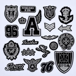 Free Shipping Custom Computer Embroidery Logo Patches Any design Any Size Patches for clothing Stickers Made in China Wholesales
