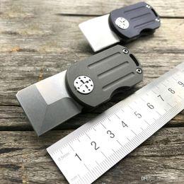 Mini Folding Blade Knives M390 Blade TC4 Titanium Handle Outdoor Keychain Knife Camping Survival Pocket Multi EDC Knife Tools 61HRC