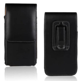 Universal Wallet PU Leather Upright Holster Vertical Cover Pouch With Belt Clip case for iphone X 8G 7G 6S plus S7 S8 plus