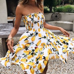2018 foreign trade new European, European and American sexy wrap dress fashion dress fashion Holiday Beach skirt