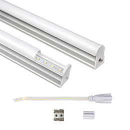 Brand New 2FT 2 feet T5 Led Tubes 12W SMD2835 600mm Integrated Led Fluorescent Light 48LEDs 110LM W Warm Cold White AC 85-265V