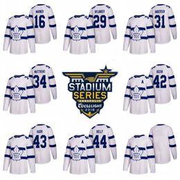 2018 Stadium Series Jersey Arenas Toronto Maple Leafs 12 Patrick Marleau 17 Wendel Clark 31 Frederik Andersen 43 Nazem Kadri Morgan Rielly