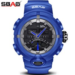 SBAO Brand Mens Electronic Watches Boy Sport Watch Male Digital Wristwatch Multi-Function Men Military watches Relogio Masculino