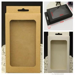 Kraft Brown Black White Retail Package Box Boxes Pack with insert for phone case cover iPhone x 5 6 7 8 PLUS Samsung Galaxy S6 s7 edge S8 S9