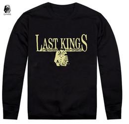 free shipping s-5xl men new style Lastkings Sweatshirts high quality o-neck hoodies Men pullover Hoodies sportswears