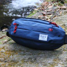 Waist bag male multi function outdoor riding dead chest bag original street hip hop trend men leisure Satchel