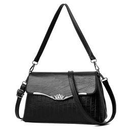2018 Fashion Women Shoulder Bag Brand Design Lady Pu Leather Embossed Totes Bag Casual Satchel Bags