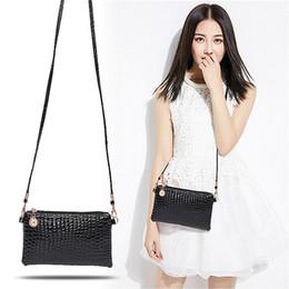 10pcs Brand New Women Alligator Small bag PU Leather Hang Messenger Shoulder Hoho Coin Purse Purse Satchel Cross body Bag