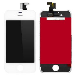 Black and white Color Glass Touch Screen Digitizer & LCD Display Assembly Replacement For iPhone 4S And Tools & Fast DHL Shipping
