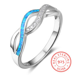 High quality hot blue fire opal 925 sterling silver ring Guangzhou FGJL jewelry wonder woman ring manufacturing company wholesale