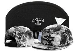Cayler Sons Snapback bone aba reta cotton baseball snapback bones for men women sports hip hop cap gorras planas