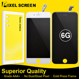 Low Faulty Incell LCD Screen For iPhone 6 Grade A LCD Screen Replacement Assembly With Touch Screen Digitizer Free DHL Shipping