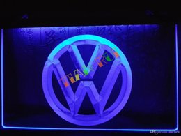 LG145-b Volkswagen VW Car Logo Services Neon Light Sign home decor shop crafts led sign.jpg