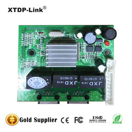New Promotion Gigabit Ethernet Switch 2 Port RJ45 with 8 pin way header 10 100 1000m Hub 2way power pin Pcb board