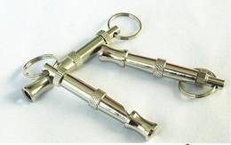 Top quality New Dog Training UltraSonic Whistle Pet Training Dog Adjustable UltraSonic Sound Whistle 120pcs
