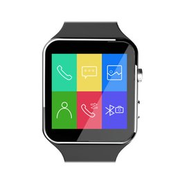Bluetooth Smart Watch X6 Smartwatch Sport Watch For Android Phone With Camera Support Pedometer Whatsapp SIM Card