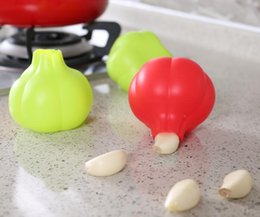 Creative Rubber Garlic Peeler Garlic Presses Ultra Soft Peeled Garlic Stripping Tool Home Kitchen Accessories
