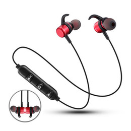 T1 Bluetooth Earphone Wireless Headset Magnetic Sport Bluetooth Headset with Mic for iphone xiaomi free shipping