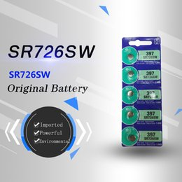 Original 397 SR726SW 1.55V silver oxide button battery imported from Japan, 100% genuine, 10% off for two pieces