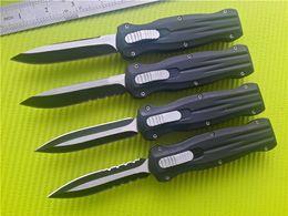 BM B207 A10 3300 3350 D A AUTO 440C steel Plain Serrated EDC Tactical knife knives with nylon sheath 4 blade styles