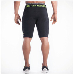 Wholesale-Summer Casual Golds Gym Fitness Running Sport Mens Shorts Homme Brand Professional Bodybuilding Training Short Pants Men Wicking