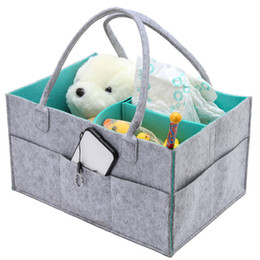 Foldable Baby Diaper Caddy Organiser Portable Storage Bag box for Car Travel Changing Table Organizerer,Gift Kid Toys