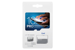 PRO 80MB S 90MB S 32GB 64GB 128GB 256GB C10 High Speed TF Flash Memory Card Class 10 Free SD Adapter Retail Blister Package