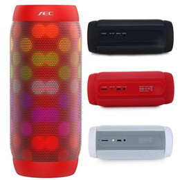 AEC BQ-615 Pro Colorful Pulse bluetooth mini speaker stereo audio wireless NFC Super Bass Subwoofer sound box support TF card FM Radio