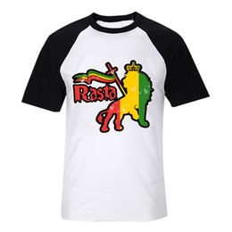 bob marley lion from jah place reggae fashion digital printing t shirt vintage band tee men women size tops 1 from sale