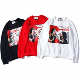 2018 new men women sweater A fairy tale printing couple autumn winter sweater hooded