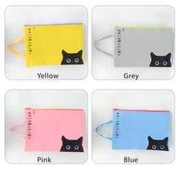 Zipper Pouch Zipper Bags A4 Zippered Pouch Storage Bags Zipper Document Folder Larger Water-resistant Storage Bags Travel Document Organizer
